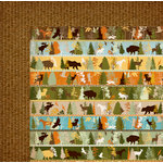 BoBunny - Take a Hike Collection - 12 x 12 Double Sided Paper - Take a Hike