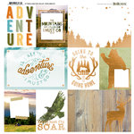 BoBunny - Take a Hike Collection - 12 x 12 Vellum with Foil Accents