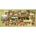 BoBunny - Take a Hike Collection - 2-Page Layout Kit