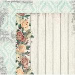 BoBunny - Bella Rosa Collection - 12 x 12 Double Sided Paper - Whisper