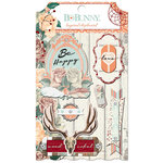 BoBunny - Bella Rose Collection - Layered Chipboard Stickers