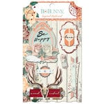 BoBunny - Bella Rosa Collection - Layered Chipboard Stickers