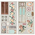 BoBunny - Bella Rose Collection - Chipboard Stickers