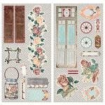 BoBunny - Bella Rosa Collection - Chipboard Stickers