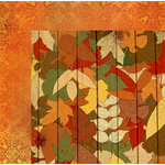 BoBunny - Farmers Market Collection - 12 x 12 Double Sided Paper - Autumn