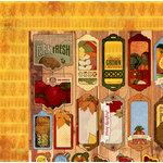 BoBunny - Farmers Market Collection - 12 x 12 Double Sided Paper - Cornucopia