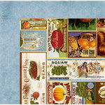 BoBunny - Farmers Market Collection - 12 x 12 Double Sided Paper - Farm Fresh