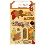 BoBunny - Farmers Market Collection - Layered Chipboard Stickers