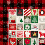 BoBunny - Merry and Bright Collection - Christmas - 12 x 12 Double Sided Paper - Holidays
