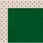 BoBunny - Merry and Bright Collection - Christmas - 12 x 12 Double Sided Paper - Mistletoe