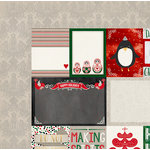 BoBunny - Merry and Bright Collection - Christmas - 12 x 12 Double Sided Paper - Special Delivery