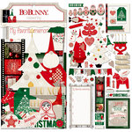 BoBunny - Merry and Bright Collection - Christmas - Noteworthy Journaling Cards