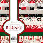 BoBunny - Merry and Bright Collection - Christmas - 6 x 6 Paper Pad