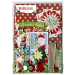 BoBunny - Merry and Bright Collection - Christmas - Ephemera