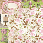 BoBunny - Sweet Moments Collection - 12 x 12 Double Sided Paper - Allure