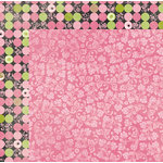 BoBunny - Sweet Moments Collection - 12 x 12 Double Sided Paper - Tempting