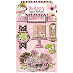 BoBunny - Sweet Moments Collection - Layered Chipboard Stickers