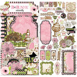 BoBunny - Sweet Moments Collection - Noteworthy Journaling Cards