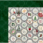 BoBunny - Tis The Season Collection - Christmas - 12 x 12 Double Sided Paper - Tis The Season