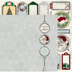 BoBunny - Tis The Season Collection - Christmas - 12 x 12 Double Sided Paper - Peace