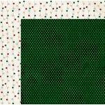 BoBunny - Tis The Season Collection - Christmas - 12 x 12 Double Sided Paper - Pine