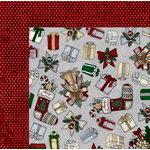 BoBunny - Tis The Season Collection - Christmas - 12 x 12 Double Sided Paper - Traditions