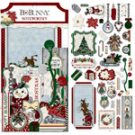BoBunny - Tis The Season Collection - Christmas - Noteworthy Journaling Cards