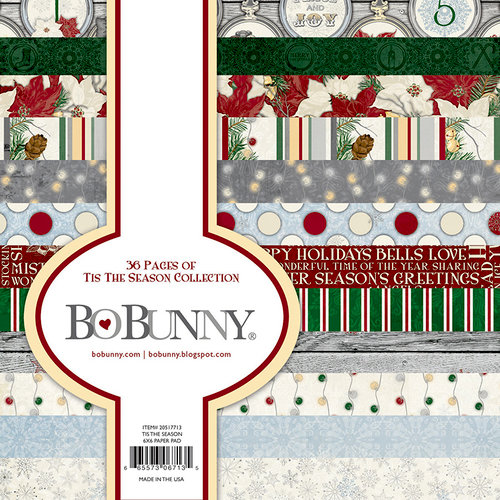 Bo Bunny Tis the Season paper pad