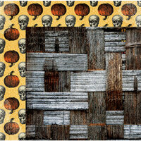 BoBunny - Wonderfully Wicked Collection - Halloween - 12 x 12 Double Sided Paper - Wretched