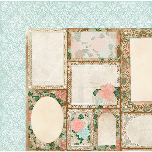 BoBunny - Felicity Collection - 12 x 12 Double Sided Paper - Always