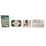 BoBunny - Felicity Collection - Project Kit - Set of Four Cards and Envelopes