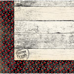 BoBunny - Kiss the Cook Collection - 12 x 12 Double Sided Paper - Farm Fresh