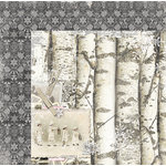 BoBunny - Winter Wishes Collection - 12 x 12 Double Sided Paper - Winter Wishes