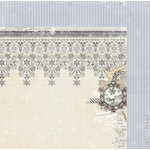 BoBunny - Winter Wishes Collection - 12 x 12 Double Sided Paper - Chill