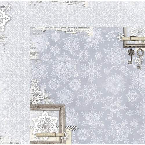 BoBunny - Winter Wishes Collection - 12 x 12 Double Sided Paper - Magic