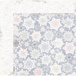 BoBunny - Winter Wishes Collection - 12 x 12 Double Sided Paper - Snowfall