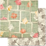 BoBunny - Aryia's Garden Collection - 12 x 12 Double Sided Paper - Window