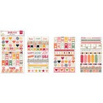 BoBunny - Aryia's Garden Collection - Clear Stickers