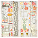 BoBunny - Aryia's Garden Collection - Chipboard Stickers