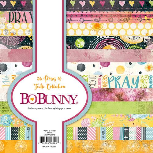 BoBunny - Faith Collection - 6 x 6 Paper Pad