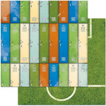 BoBunny - Game On Collection - 12 x 12 Double Sided Paper - Lockers