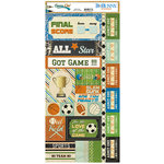 BoBunny - Game On Collection - Cardstock Stickers