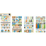 BoBunny - Game On Collection - Clear Stickers