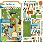 BoBunny - Game On Collection - Noteworthy Journaling Cards