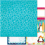 BoBunny - Make A Splash Collection - 12 x 12 Double Sided Paper - Ocean
