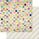 BoBunny - Make A Splash Collection - 12 x 12 Double Sided Paper - Summertime
