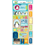 BoBunny - Make A Splash Collection - Cardstock Stickers