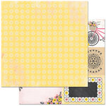 BoBunny - Petal Lane Collection - 12 x 12 Double Sided Paper - Love Notes