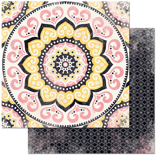 BoBunny - Petal Lane Collection - 12 x 12 Double Sided Paper - Mandalas