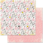 BoBunny - Petal Lane Collection - 12 x 12 Double Sided Paper - Sweet